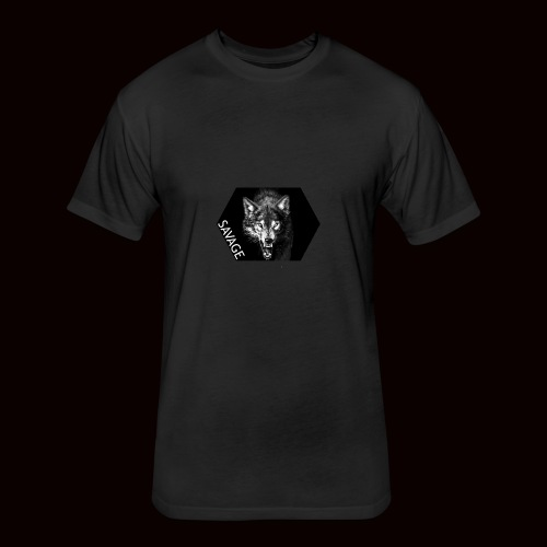 IMG 2513 - Fitted Cotton/Poly T-Shirt by Next Level