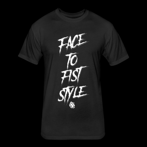 Face To Fist Style - Fitted Cotton/Poly T-Shirt by Next Level