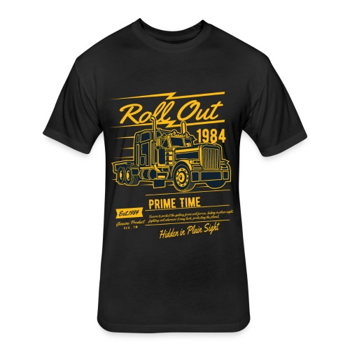 Prime Time - Roll Out - Fitted Cotton/Poly T-Shirt by Next Level