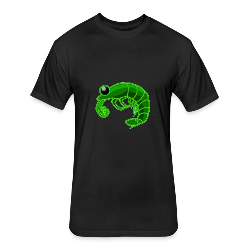 RadPrawn - Fitted Cotton/Poly T-Shirt by Next Level