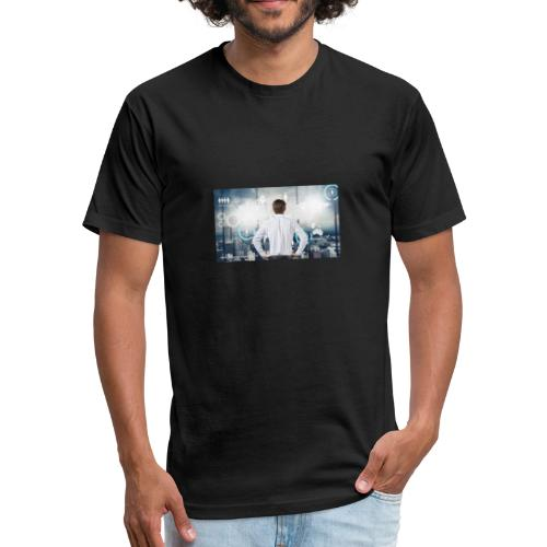 gerencia proyectos - Fitted Cotton/Poly T-Shirt by Next Level