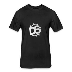 Depth Logo - Fitted Cotton/Poly T-Shirt by Next Level