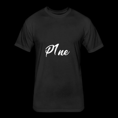 P1neMusic - Fitted Cotton/Poly T-Shirt by Next Level