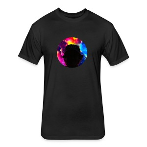 Aidan.J.Keller Logo T-Shirt - Fitted Cotton/Poly T-Shirt by Next Level