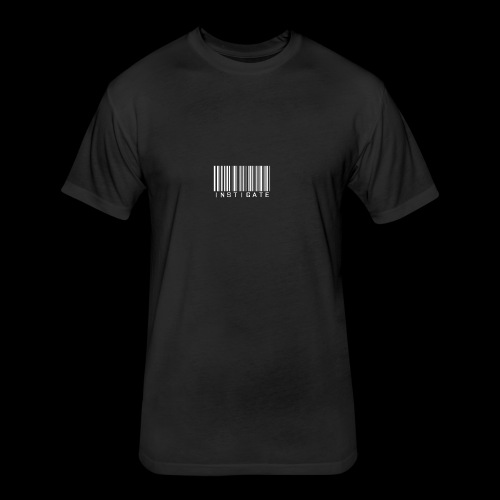 Instigate barcode - Fitted Cotton/Poly T-Shirt by Next Level