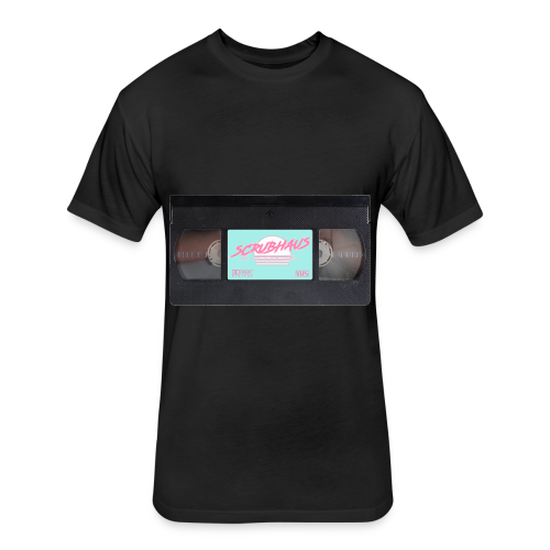 VHS Tape - Fitted Cotton/Poly T-Shirt by Next Level