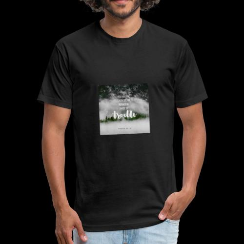 Refuge - Fitted Cotton/Poly T-Shirt by Next Level