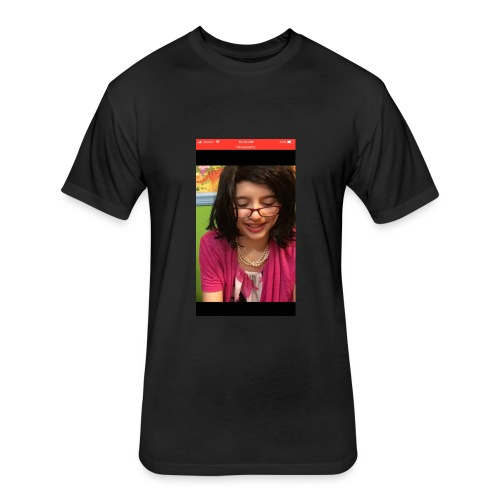 RyFitz as a Girl - Fitted Cotton/Poly T-Shirt by Next Level