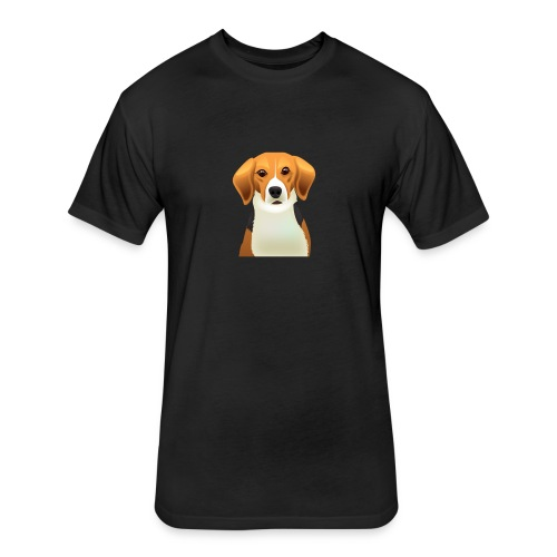 Dog lovers - Fitted Cotton/Poly T-Shirt by Next Level