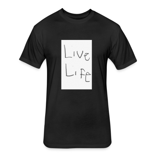 89146B8C DF35 447A A3CB 61A0C68A3F4A - Fitted Cotton/Poly T-Shirt by Next Level