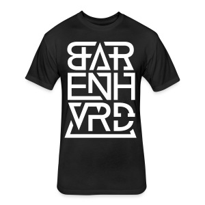 BARENHVRD LOGO 2016 V - Fitted Cotton/Poly T-Shirt by Next Level
