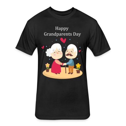 Awesome Gift for Funny Grandparents Day T-shirt - Fitted Cotton/Poly T-Shirt by Next Level