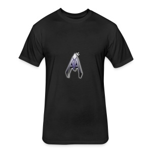 Avoh Black and white King edition - Fitted Cotton/Poly T-Shirt by Next Level