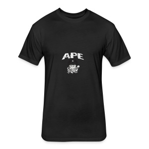 The_Two_Wheeled_Ape_Full_Throttle - Fitted Cotton/Poly T-Shirt by Next Level