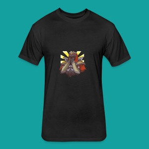 Zed Kawaii - Fitted Cotton/Poly T-Shirt by Next Level