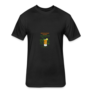 Schlong Island Iced Tea - Fitted Cotton/Poly T-Shirt by Next Level