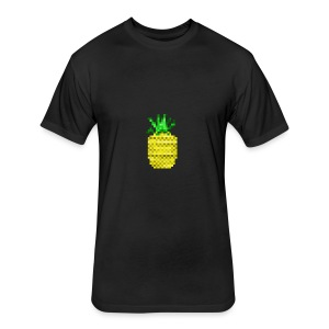 Apple of Pine - Fitted Cotton/Poly T-Shirt by Next Level