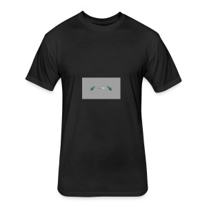 Gaming20MC swords - Fitted Cotton/Poly T-Shirt by Next Level