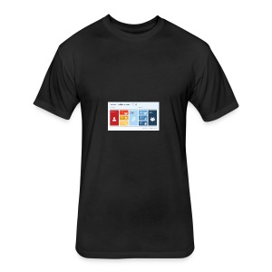 6806 01 business excellence model efqm 9 - Fitted Cotton/Poly T-Shirt by Next Level
