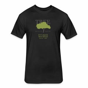Tree Reading Swag - Fitted Cotton/Poly T-Shirt by Next Level