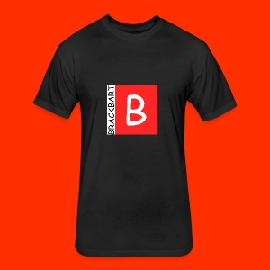 Brackbart Official Logo - Fitted Cotton/Poly T-Shirt by Next Level
