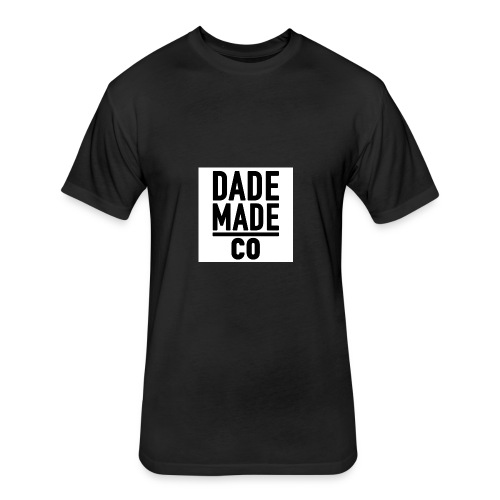 dademadelogo - Fitted Cotton/Poly T-Shirt by Next Level