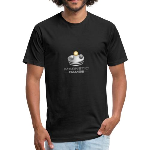 Magnetic Games - Fitted Cotton/Poly T-Shirt by Next Level