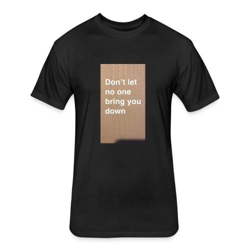 nivkandjacob.com/shop - Fitted Cotton/Poly T-Shirt by Next Level