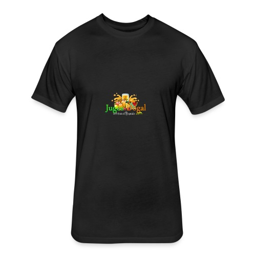 jugos dogal - Fitted Cotton/Poly T-Shirt by Next Level