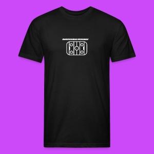 Ineffable Hockey Hoodies 3 - T-shirt ajusté poly/coton pour hommes