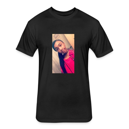 Ryaun's Face - Fitted Cotton/Poly T-Shirt by Next Level