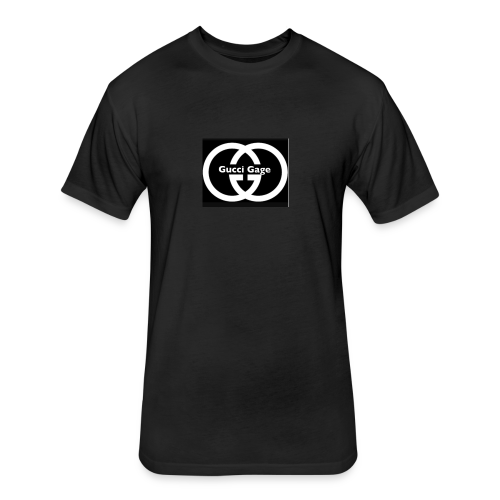 Guccigagey - Fitted Cotton/Poly T-Shirt by Next Level