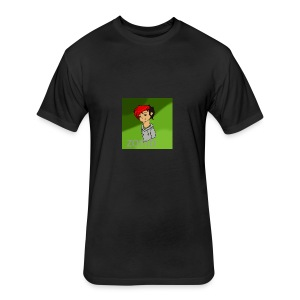zomb is nere - Fitted Cotton/Poly T-Shirt by Next Level