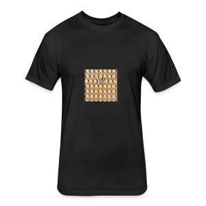 BOi - Fitted Cotton/Poly T-Shirt by Next Level