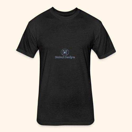 Distinct Designs - Fitted Cotton/Poly T-Shirt by Next Level