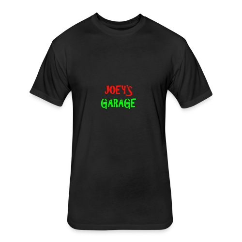 Joey s Garage Shirt - Fitted Cotton/Poly T-Shirt by Next Level