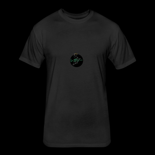 Jade Dragon collection - Fitted Cotton/Poly T-Shirt by Next Level