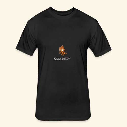 cookieSilly T-Shirt - Fitted Cotton/Poly T-Shirt by Next Level
