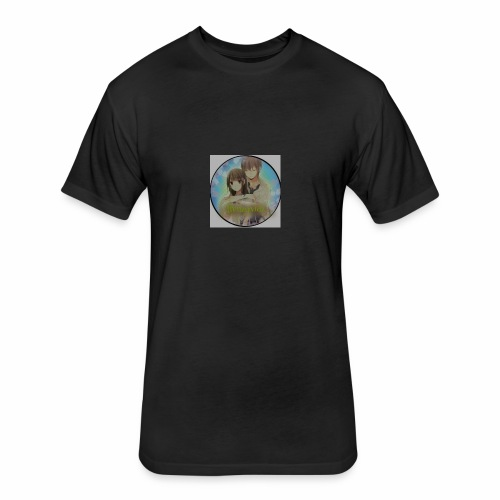 _.frenzyvidz._ - Fitted Cotton/Poly T-Shirt by Next Level