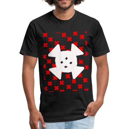 CANDYS R AND W - Fitted Cotton/Poly T-Shirt by Next Level