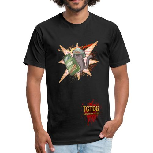 TGCat - Fitted Cotton/Poly T-Shirt by Next Level