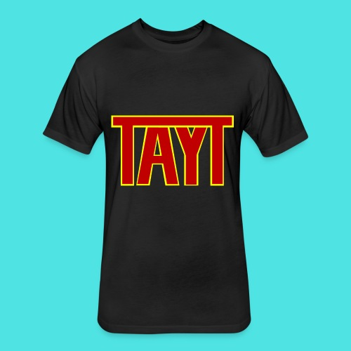 TAYT - Fitted Cotton/Poly T-Shirt by Next Level