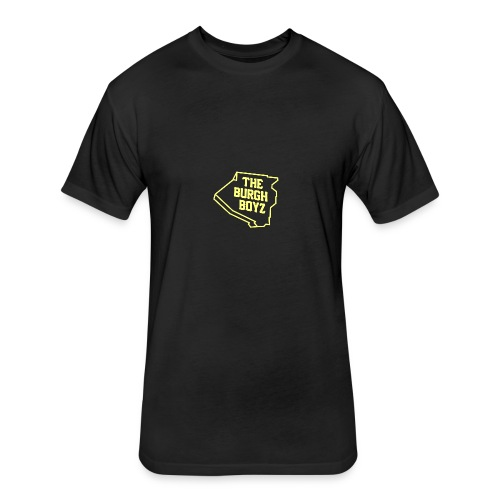 The Burgh Boyz Tee - Fitted Cotton/Poly T-Shirt by Next Level