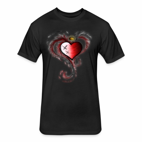 Deep love Exposure - Fitted Cotton/Poly T-Shirt by Next Level
