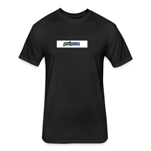 PRISON 2 - Fitted Cotton/Poly T-Shirt by Next Level