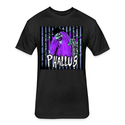 Phallus Gear - Fitted Cotton/Poly T-Shirt by Next Level