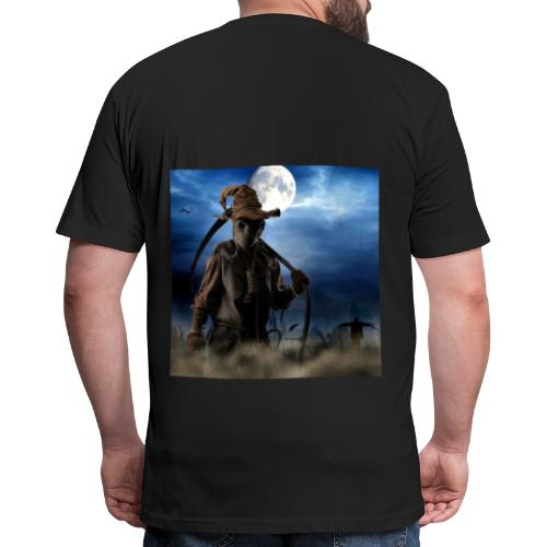 Halloween scarecrow - Fitted Cotton/Poly T-Shirt by Next Level