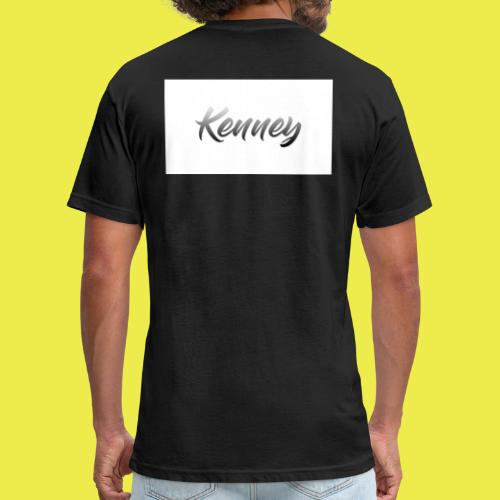 Kenney Merchandise - Fitted Cotton/Poly T-Shirt by Next Level