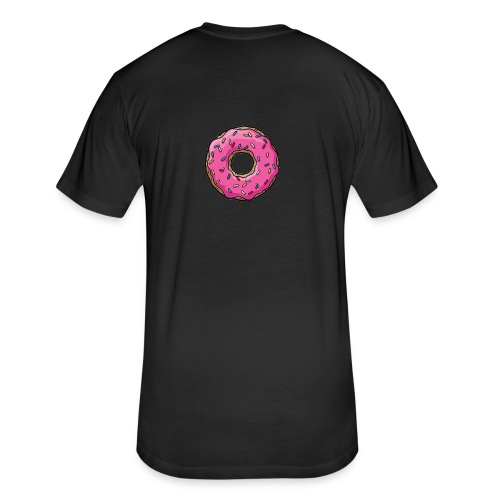 Simpsons Donut Shirts - Fitted Cotton/Poly T-Shirt by Next Level