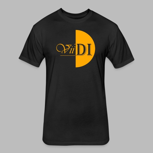 Yellow_Vii'DI - Fitted Cotton/Poly T-Shirt by Next Level